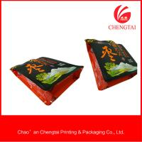 Wholesale Opaque Food Packaging Flat Bottom Pouches / Pouch Zipper Top Custom Printed from china suppliers