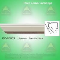 Wholesale Green durable PU plain ceiling crown moulding from china suppliers