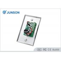 Quality Two Colored LED Indication Door Release Button With Stainless Steel Plate for sale