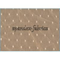 Wholesale Nude Jacquard Nylon Spandex Mesh Lace Fabric Dot Design Warp Knitting from china suppliers
