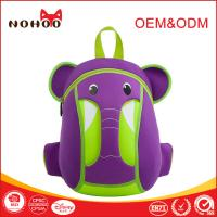 Wholesale Ultralight Neoprene Children School Bag Backpack Zoo Animal Elephant Shaped from china suppliers