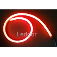Wholesale 12V 24v 110v 220v UV proof waterproof Red Led Flex Neon for outdoor from china suppliers