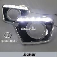 Wholesale Greatwall C20R DRL LED daylight driving Lights units for car upgrade from china suppliers