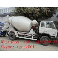 Wholesale High quality and cheapest price dongfeng 4m3 90hp concrete mixer truck for sale,factory sale mixer dum mounted on truck from china suppliers