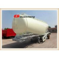 Wholesale Powder material series cement bulk trailer 3 axles cement bulk tanker trailer from china suppliers