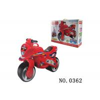 Buy cheap Red Balance Slide Ride On Motoycycle Toy For Toddler 2  ~ 6 Years Old Non - Toxic from wholesalers