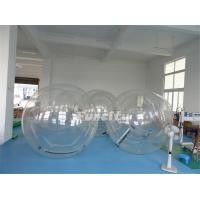 Wholesale Customized 1.0 Mm PVC / TPU Clear Inflatable Bubble Ball For Swimming Pool from china suppliers