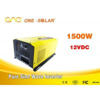 Wholesale ONE Dc Ac 110v 220v Solar Off Grid Invertor Pure Wave Inverter 3000w 24v With Charger from china suppliers
