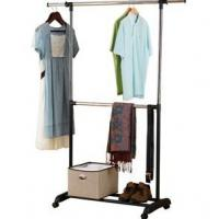 Quality Mainstays Adjustable 2-Tier Garment Rack (Chrome) (HK-CS-CR04) for sale