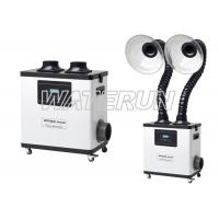 Wholesale 110V White Moxibustion nail salon fume extractor Equipment with Double Arms from china suppliers