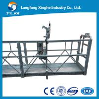 Wholesale zlp630 Suspended access platform, wire rope hanging platform, suspended cradle from china suppliers