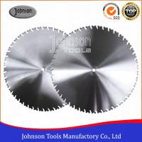 Quality Laser Welded Diamond Wall Saw Blades Reinforced Concrete Cutting with High Lifetime for sale