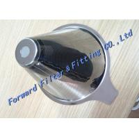 Wholesale Tea Funnel Double Layer Filtrate 550um Stainless Steel Wire Mesh Filter Miniature Punching  SUS316 from china suppliers
