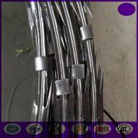 Wholesale 10 meter /roll Electro Galvanized concertina cross Razor barbed wire from china suppliers