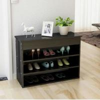Wholesale Home Black Custom Living Room Furniture Contemporary Storage Shoe Rack from china suppliers