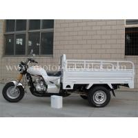 Wholesale Gas / Petrol Motorized Cargo Trike 3 Wheeler Motorcycle 160mm Ground Clearance from china suppliers