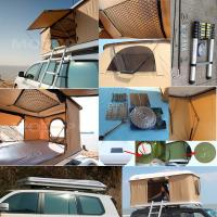 Wholesale Tear Resistant Car Top Tent Hard Shell With Clipper - Built Design from china suppliers