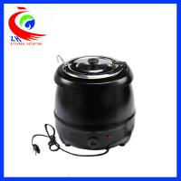 Wholesale Black electric keep warm buffet soup warmer pot inside with stainless steel material from china suppliers