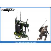 Wholesale Military Backpack Digital Video Transimtter 720P COFDM Wireless Video System 10 Watt from china suppliers