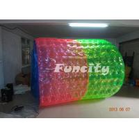 Wholesale Giant 6 Foot PVC / TPU Inflatable Water Roller For Amusement Park from china suppliers