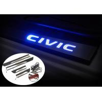 Wholesale HONDA New CIVIC 2016 Car Spare Parts LED Light Side Door Sills Scuff Plate from china suppliers
