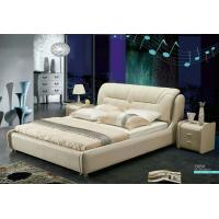 Wholesale J305,leather bed, living room home furniture,KD furniture from china suppliers