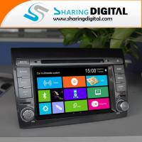 Wholesale Black / White Digital Fiat DVD Player 800*480 Resolution For Fiat Doblo FT-6250GD from china suppliers