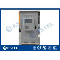Wholesale Waterproof Outdoor Telecom Cabinets , Outdoor Equipment Cabinet With Air Conditioner from china suppliers