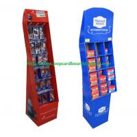 Quality Recyclable Pop Corrugated Cardboard Display For Goods Hanging for sale