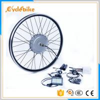 Wholesale 36v 800w / 48v 1000w front Aluminum Alloy Stator Silver motor wheel with LCD display from china suppliers