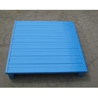 Wholesale Customized Warehouse Storage Stackable Metal Heavy Duty Steel Pallet from china suppliers