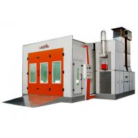 Quality 7.5KW Exhaust Turbo Fan Downdraft car Spray Booth For Automobile Painting, Maintenance WD-60A for sale