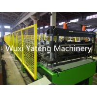 Wholesale 22KW Chain Transmission Floor Deck Roll Forming Machine 24 - 28 Stations Empossing Rollers from china suppliers