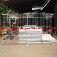 Wholesale Australia galvanized temp fence stays galvanised temporary fence with brace from china suppliers