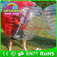 Wholesale Inlfatable Color Bumper Ball Bubble Football  Soccer Body Zorb bubble soccer ball suit from china suppliers