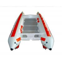 Wholesale 3 Person 0.9mm PVC High Speed Inflatable Boats With Stainless Steel Tail from china suppliers