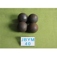 Wholesale Professional 61 - 63hrc Hot Rolling Steel Balls B2 D40mm Grinding Media Balls for Mining from china suppliers