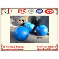 Wholesale Large Crusher Ball Castings Up to 2000mm in Diameter Mn13Cr2  EB15014 from china suppliers