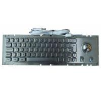 Wholesale Mechanic Kiosk Metal Keyboard With Cherry Key-Switch And 38mm Laser Trackball from china suppliers