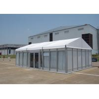 Wholesale 100 People Small Glass Wall Marquee Garden Party Tent For Wedding Anniversary from china suppliers