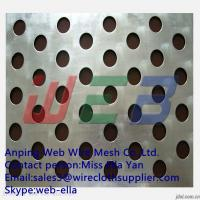 Wholesale Round hole stainless steel perforated metal mesh/punch metal sheet from china suppliers