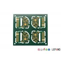 China Custom PCB Circuit Board 4 Layers FR - 4 Base Material For Mobile Phone SIM Card Slot on sale