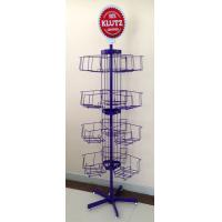 Wholesale 4 Tier - Bin Spinner Metal Display Racks For Shopping And Commercial Malls from china suppliers