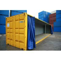 Wholesale 850gsm 1000d PVC Tarpaulin Side Curtain for Trailer , Glossy or Matte from china suppliers