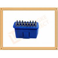 Wholesale PVC BLUE OBDII 16 Pin Male OBD Diagnostic Connector CK-SOM002B from china suppliers