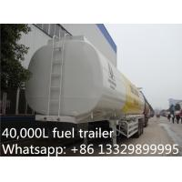 Wholesale 3 axles fuel semitrailers exported to Africa, hot sale fuel tank semitrailer, from china suppliers