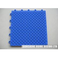 Wholesale PP Synthetic Interlocking Floor Tiles , Kindergarten / Kitchen Flooring from china suppliers