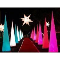 Wholesale Exhibit Party Light Inflatable Cone for Stage and Wedding Decoration from china suppliers