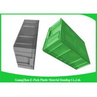 Wholesale Large Standard Warehouse Plastic Euro Stacking Containers 800*600*340mm from china suppliers