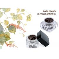Wholesale Organic Colour Eyebrow Tattoo Pigment Dark Brown Eyebrow Microblading Ink Pigments from china suppliers